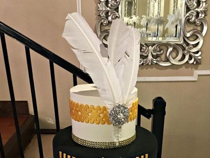 Tmx 1491856463662 Gatsby Cake Buford, Georgia wedding cake