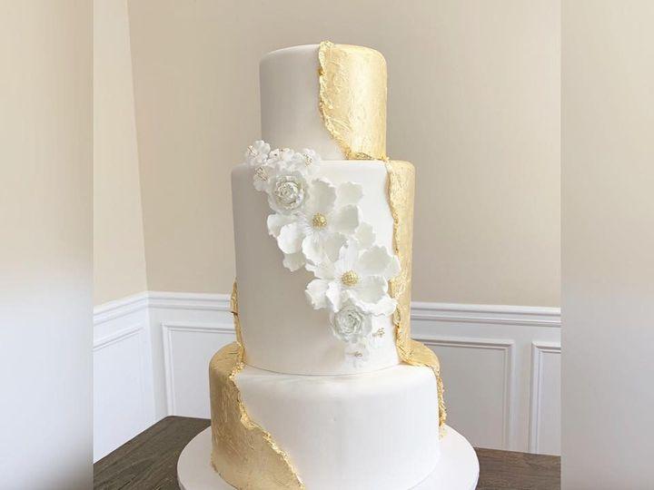 Tmx 24k Gold Leaf Cake 51 970296 1558994542 Buford, Georgia wedding cake