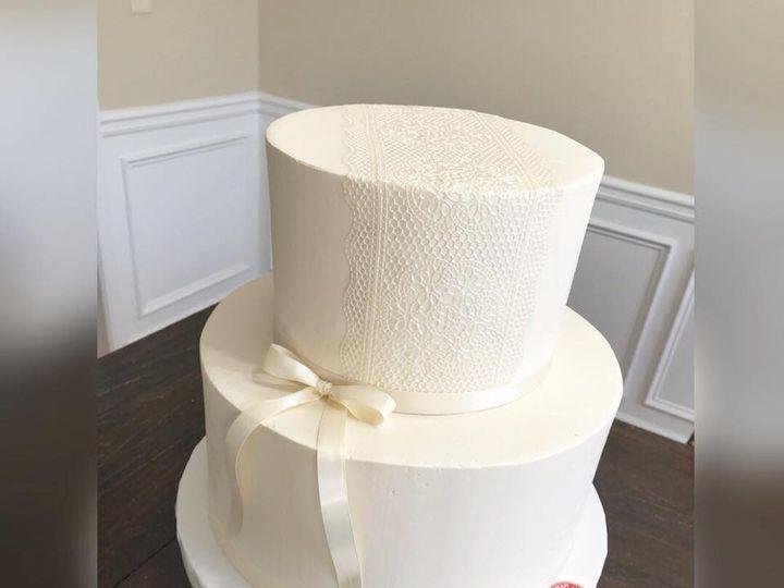 Tmx 29597971 1482529861859138 1010447299156061516 N 1 51 970296 V1 Buford, Georgia wedding cake