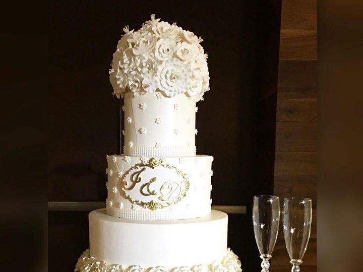 Tmx 32854335 1526612990784158 8240446072263016448 N 1 51 970296 V1 Buford, Georgia wedding cake