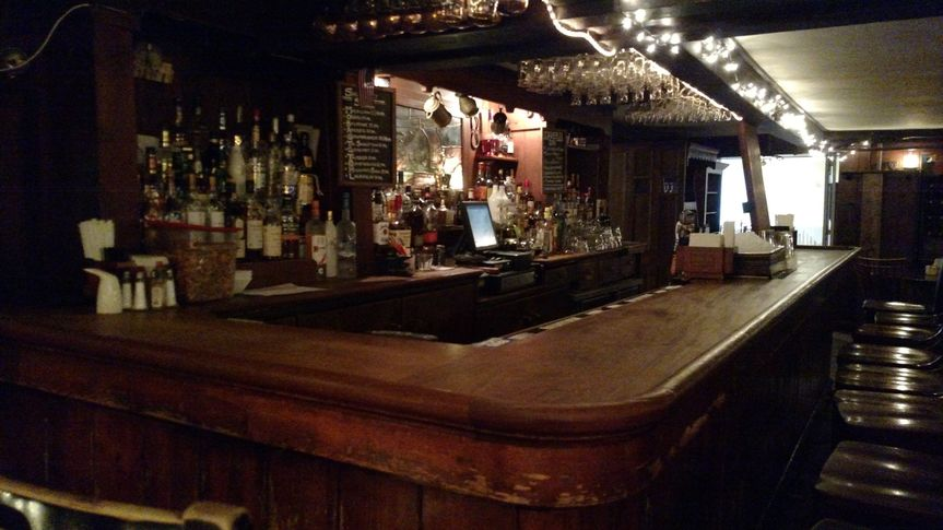 If this bar could talk, it would tell you stories dating back to 1704. Predating the Beekman Arms by...