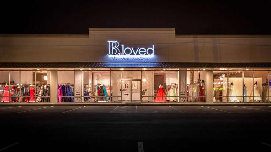 b loved new store front 1