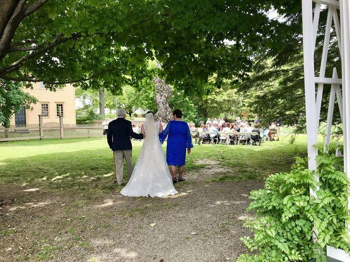 Ceremony in Goodwin Garden