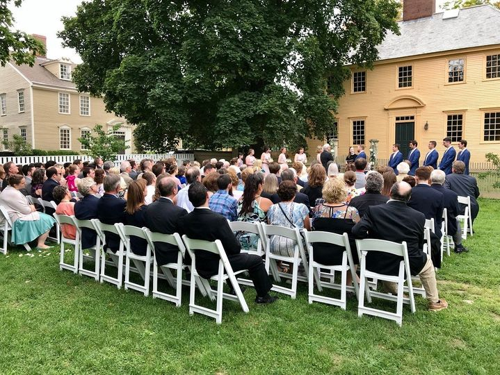 Ceremony in Goodwin Garden