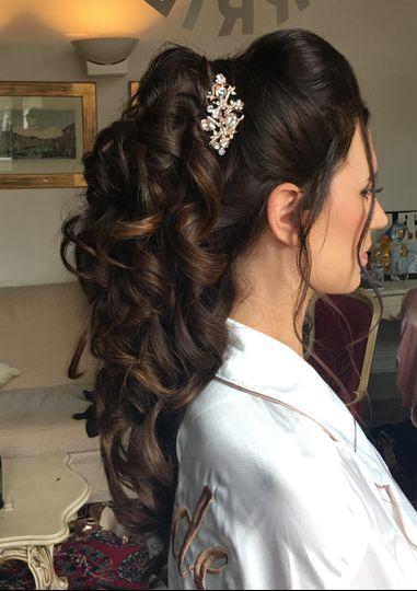 Bridal hair venice