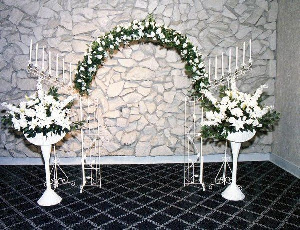 One of Our Wedding Arch