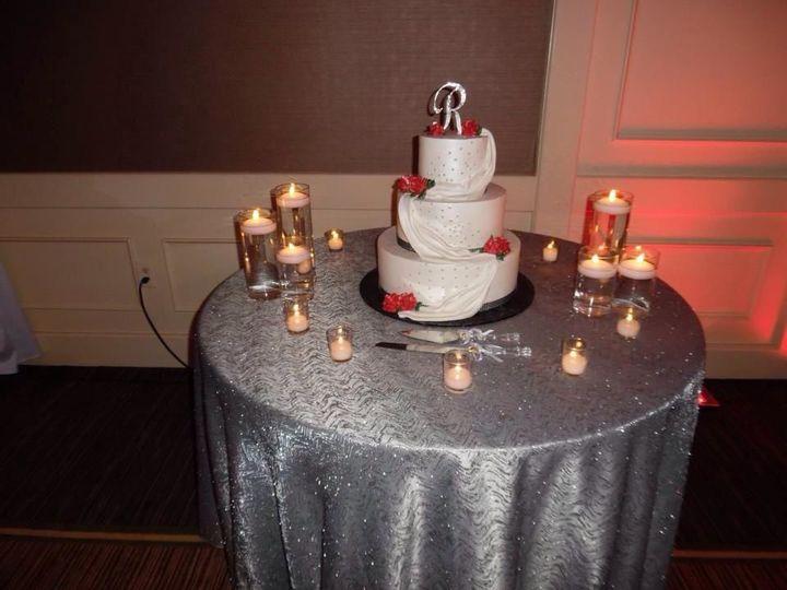 Cake set-up
