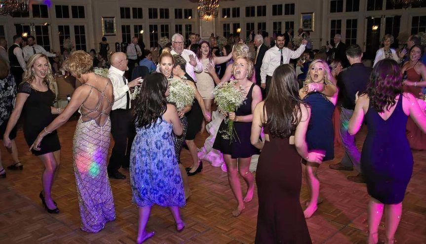 Fun on the dance floor!