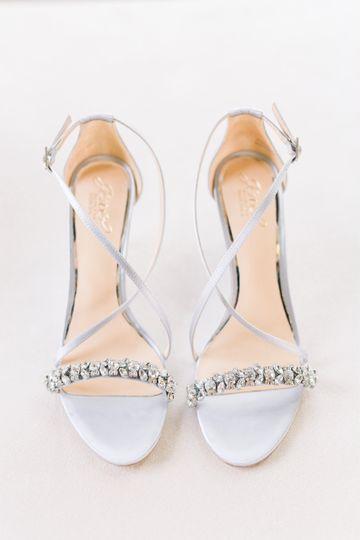 Blingy shoes