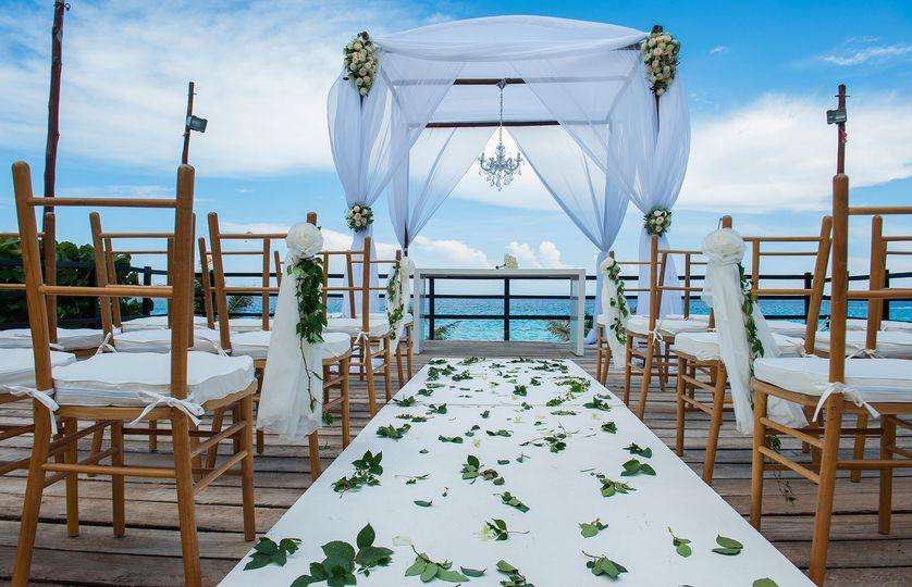Oceanview Terrace ceremony