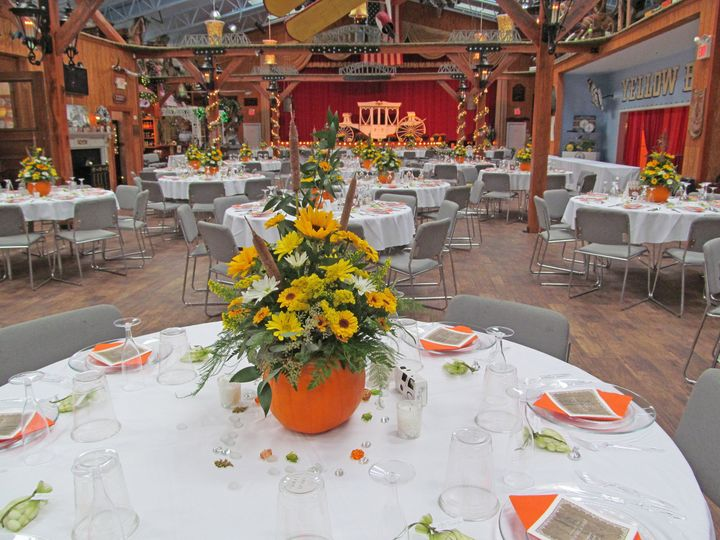 Reception at the Yellow Barn