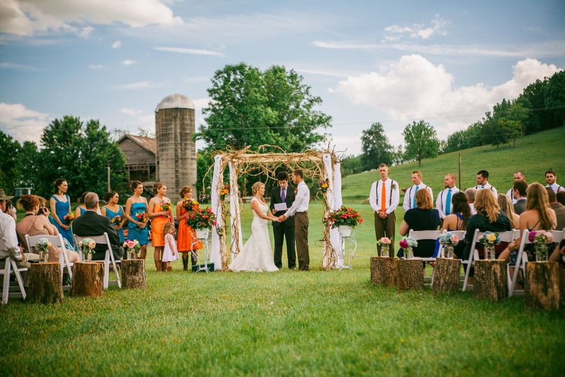 Outdoor ceremonies for up to 150