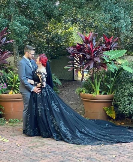 Black wedding dress oh my!