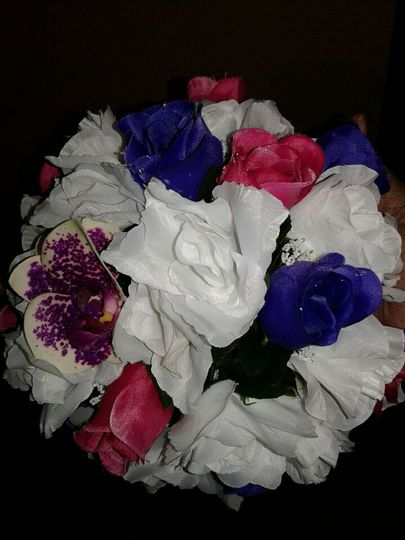 Your choice in type of flowers
