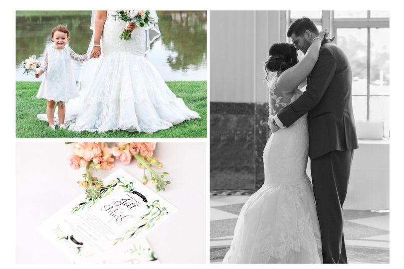 wedding wire collage
