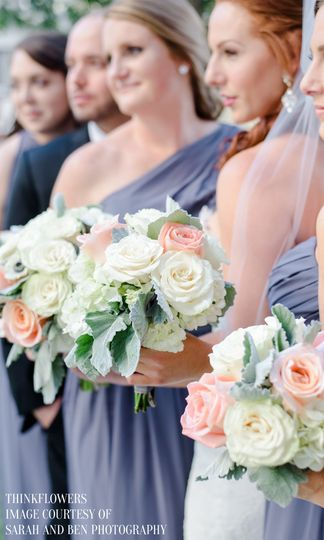 Pastel Bouquets | Photo Courtesy of Sarah & Ben Photography