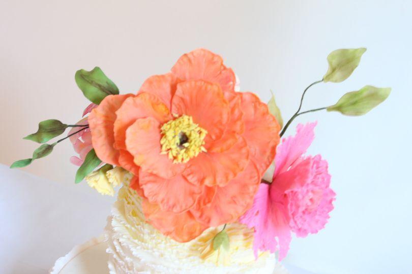 Sugar Flower Closeup