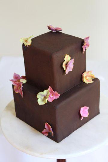 Chocolate Cake Sugar Hydrangea