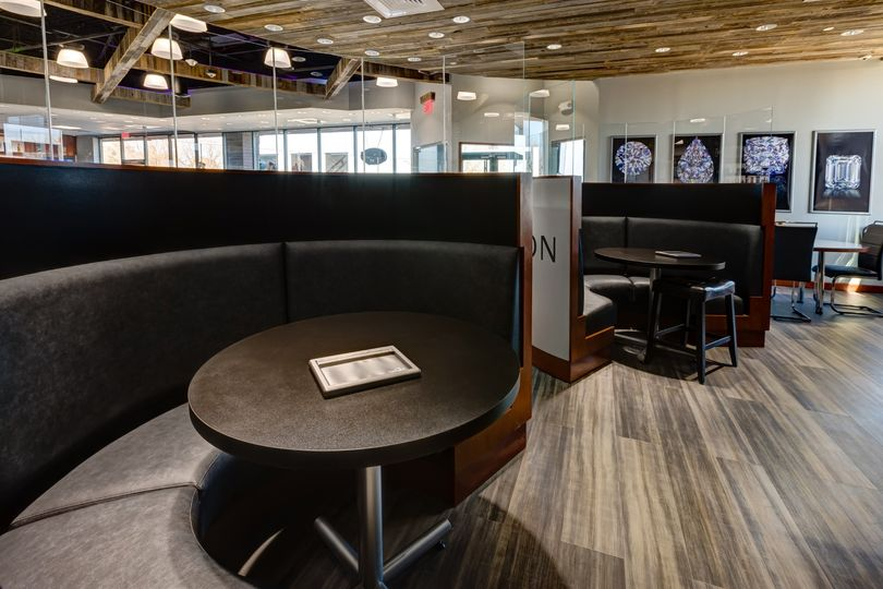 Private booths for comfort