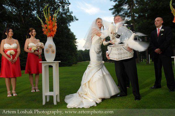 Tmx 1284247574768 ArtemLoshakPhotographydovesAnastasiyaAnton Keene wedding officiant