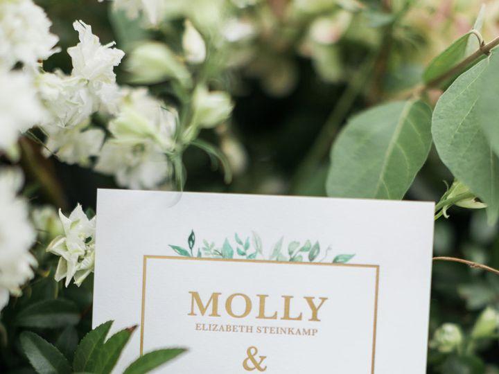 Tmx Molly Brian Reception 0030 51 782396 Greenwood, IN wedding invitation