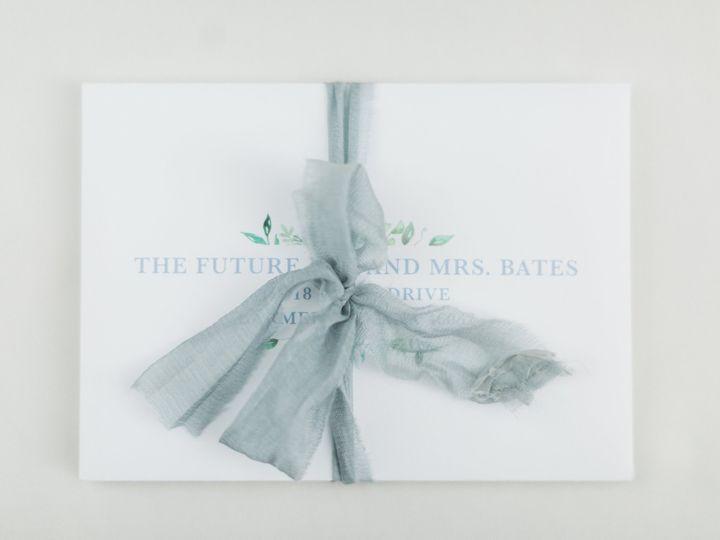 Tmx Molly Brian Reception 0033 51 782396 Greenwood, IN wedding invitation