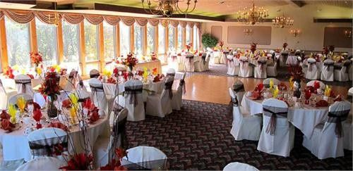 Wedding indoor reception
