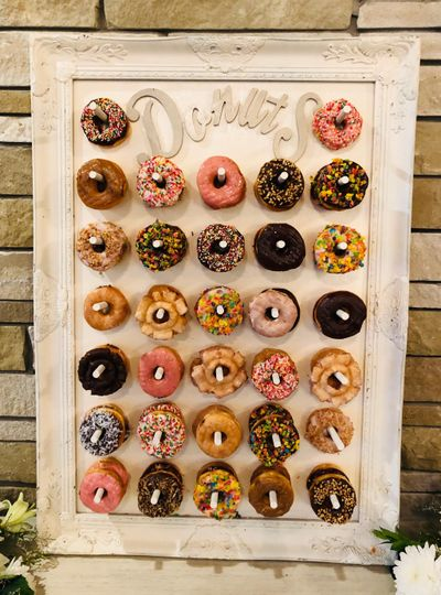 Our New Donut Wall
