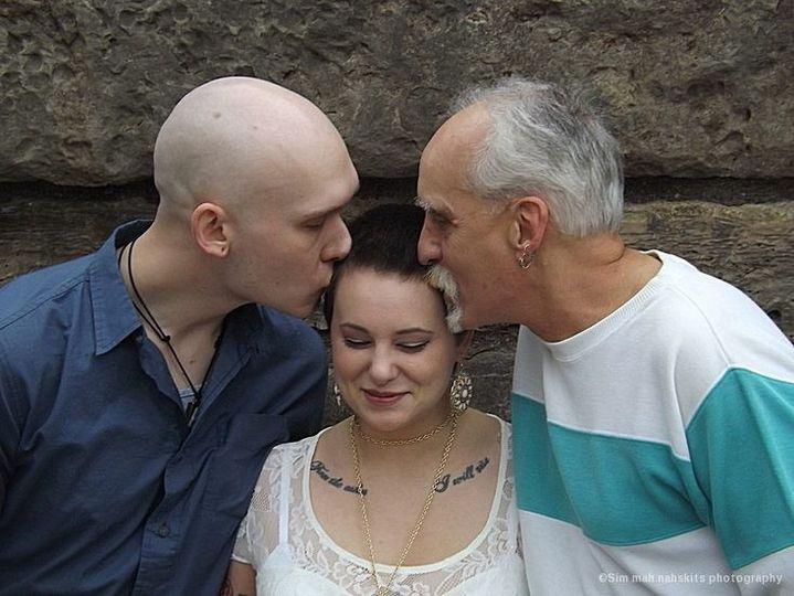 anna luke and dad