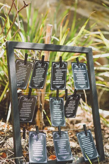 The wedding tags