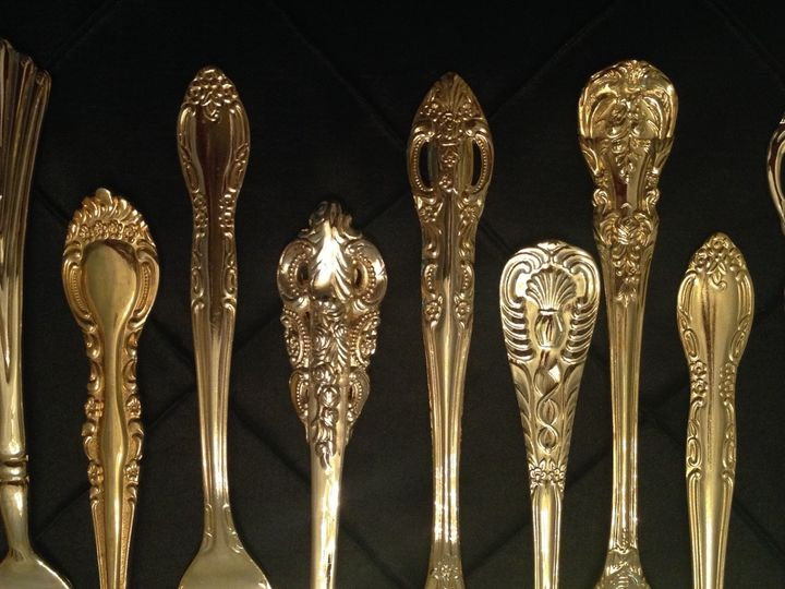 Tmx 1438980725884 Ees Gold Flatware Newtown Square wedding rental