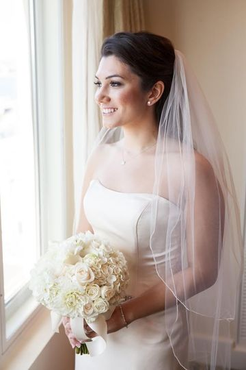 newburyport ma airbrush wedding makeup by nancy de