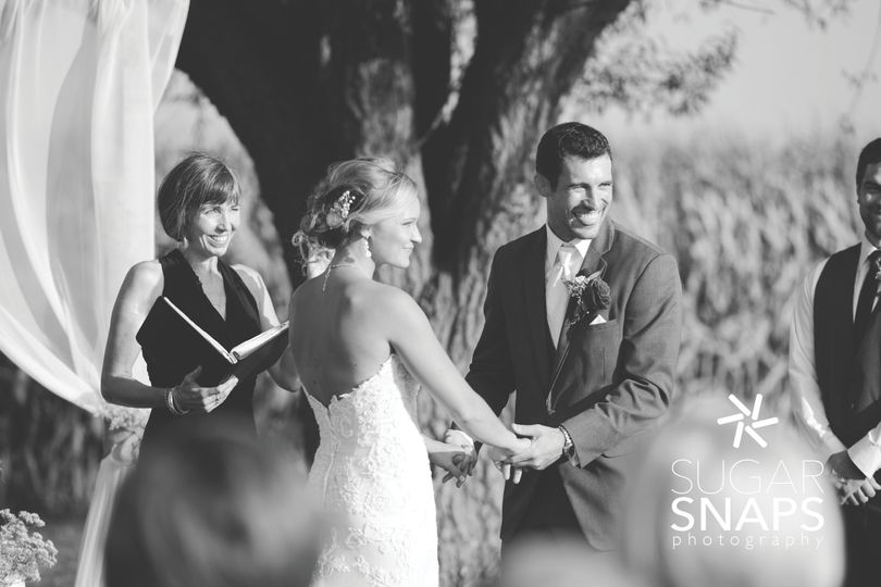 Vows often elicit both tears and laughter!