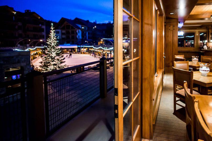 Alpine Club View of Village
