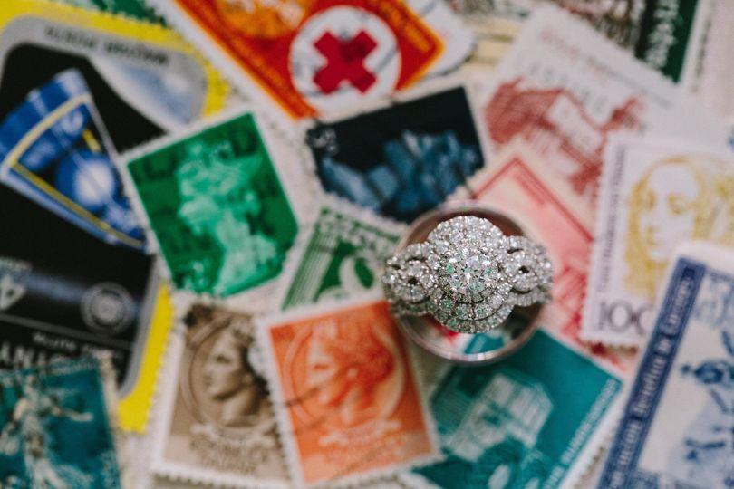 Stamp decor | Photo by JOPHOTO