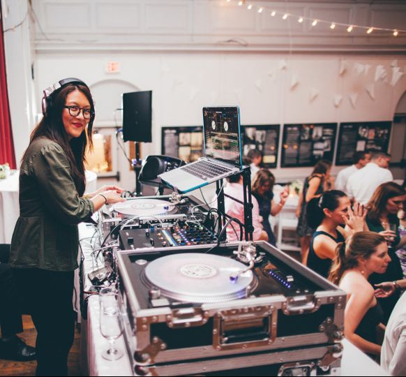 DJ Booth |  Photo: Jessica Crews