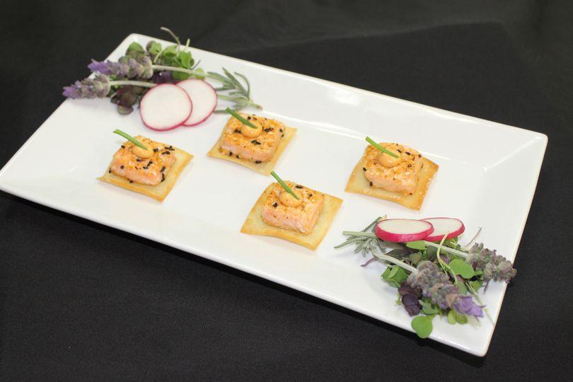 salmon crisp