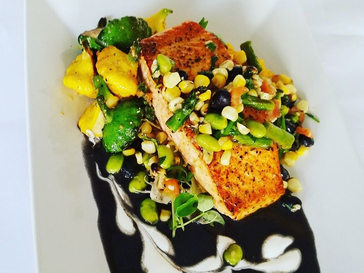 Tmx Pan Seared Salmon With Black Bean Sauce And Summer Squash 51 496 159726118627136 Laurel, MD wedding catering