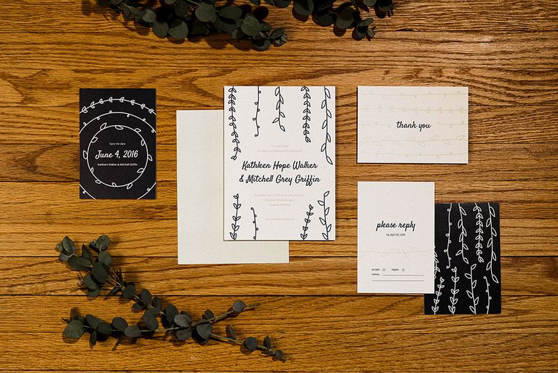 paper paragon casual modern wedding collection2