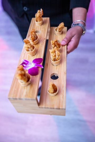 Delicious Hors D' Oeuvres
