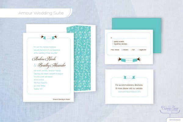 Tmx 1310362493904 AmourW Seattle wedding invitation