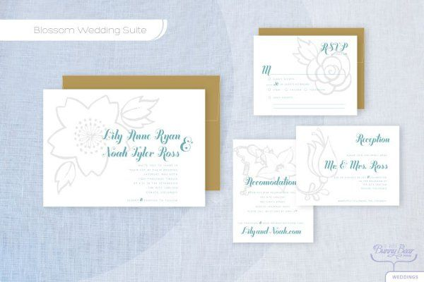 Tmx 1310362498264 BlossomW Seattle wedding invitation