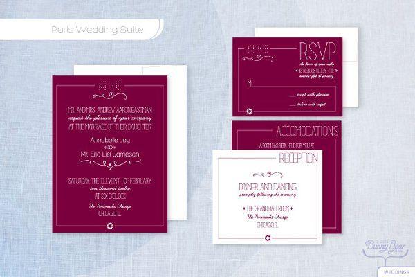 Tmx 1310362509873 ParisW Seattle wedding invitation