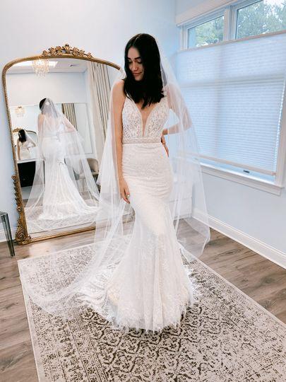 A stunning new dress!