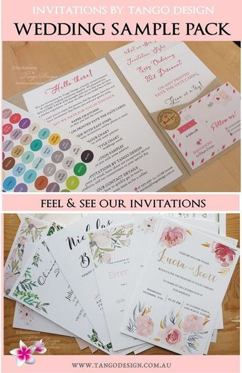 Get our invitation sample