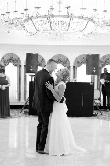 the monor east orange wedding first dance
