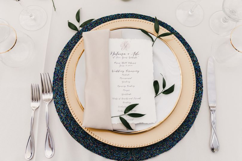 A Finished Place Setting