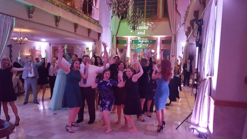 A fun wedding at talamore country club ambler.