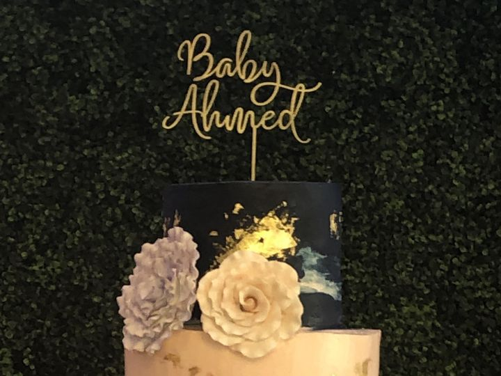 Tmx Navy Blush And Gold Cake 51 1016496 Metuchen wedding cake