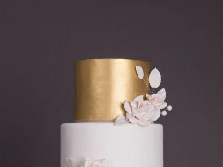 Tmx Navy Gold And White Wedding Cake 51 1016496 Metuchen wedding cake